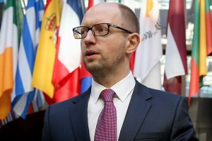 Why did Yatsenuk resign?