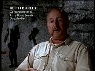 Keith Burley of the Bomb Squad.