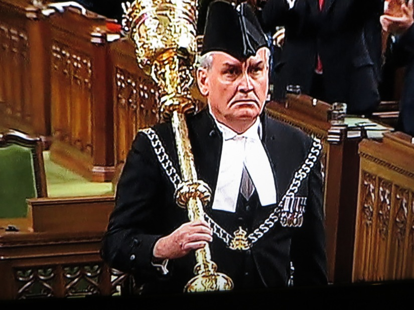 Hero of the Day! kevin Vickers returns to Parliament