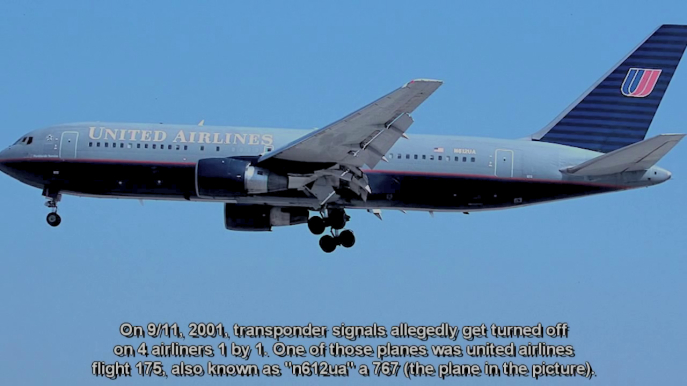 This is a United Airlines 767