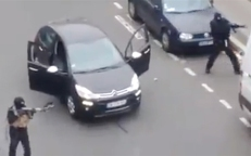 The gunman in Paris Two men and no getaway driver.