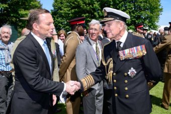In happier times, Abbott meets his unforeseen nemesis,