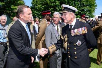 In happier times, Abbott meets his unforeseen nemesis,