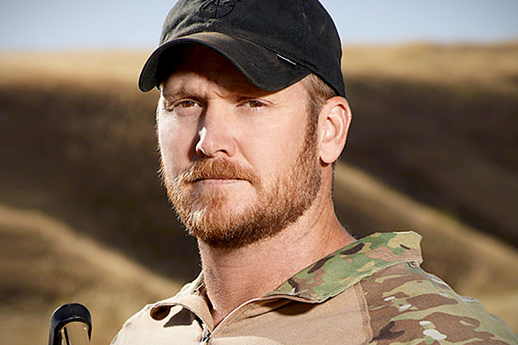 Semi Official Portrait of Chris Kyle.