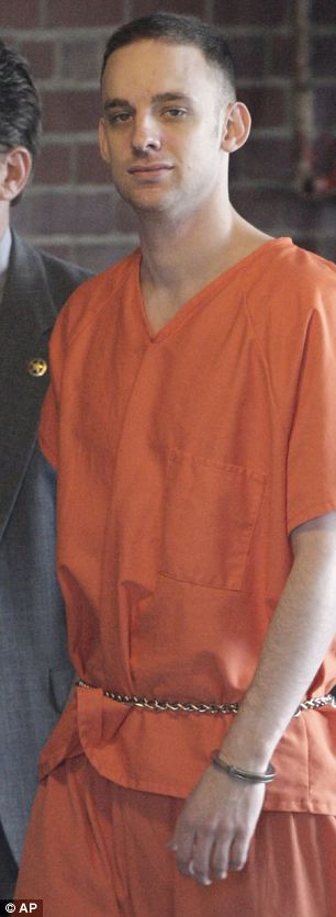 Stephen Green in custody in the US prior to his death.