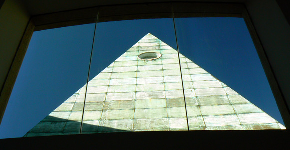The Eye in the Pyramid from the Rothschild funded Israeli Supreme Court.