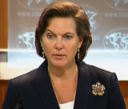 Victoria Nuland one of the Key State Department Officials behind the coup.