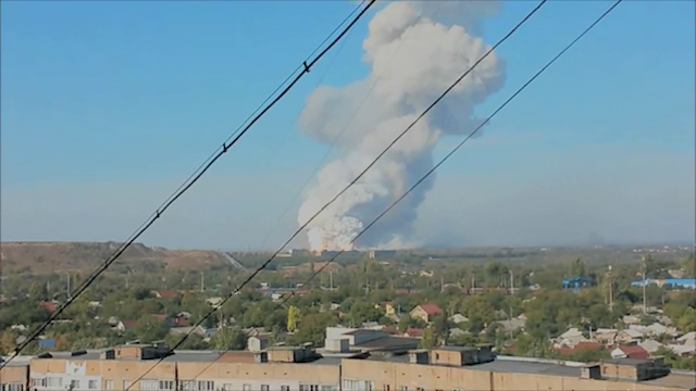 Donetsk Explosion September 20th, 2014.