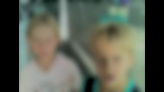 A blurred still from the Hampstead victims/witnesses video.