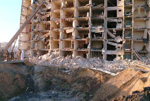 Khobar Towers 1997 left 19 US soldiers dead.