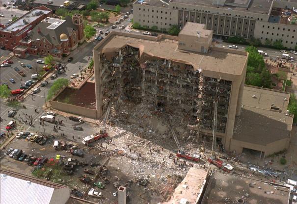 Alfred P Murrah Building. Oklahoma City 1995