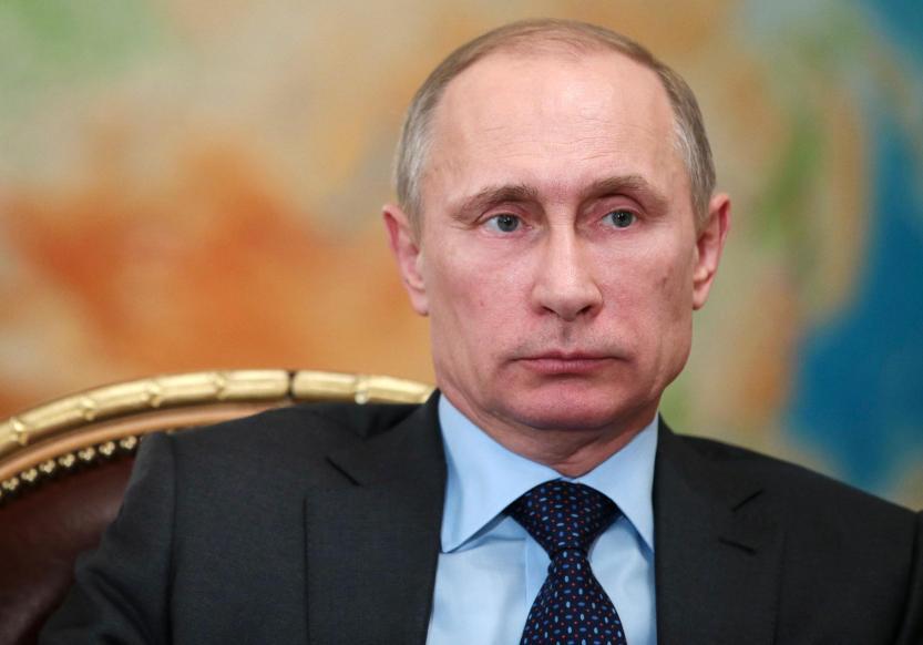 The Russian President Vladimir Putin.