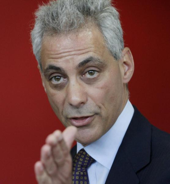 Chicago Mayor Rahm Emanuel. A couple of minor contribution