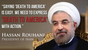 An unsourced Iranian President Hassan Rouhani quote courtesy of ISRAEL SLIDES!
