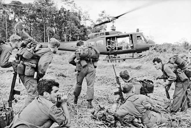 Australian Troops were CONSCRIPTED to fight in Vietnam, 500 Australians died in Vietnam. Thousands were traumatised.