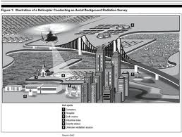 Diagram shows the technique used to survey New York.