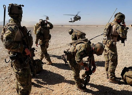 The ADF in Afghanistan. Forty Australians died in the operation designed to prevent a false flag attack conducted by Westerners with no connection to Afghanistan and in the deluded mission to