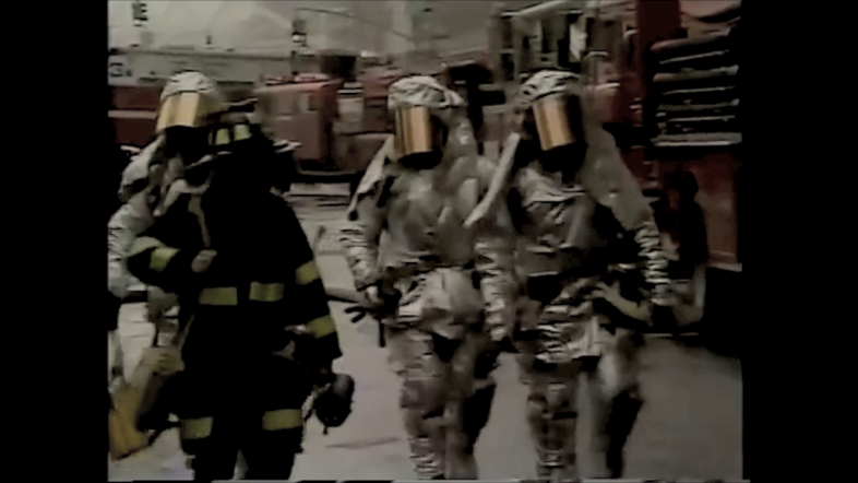 Nuclear Chemical and Biological Protection Suits at Ground Zero.