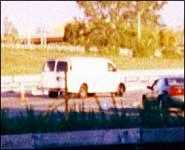 This is a photo of the hite Van the Dancing Israelis were in when arrested.