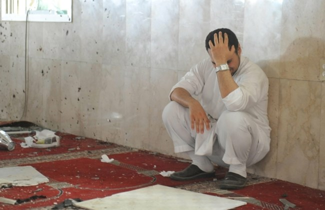 Citizen of Eastern Saudi Arabia mourns for a dead family member in the wake of the atrocity.