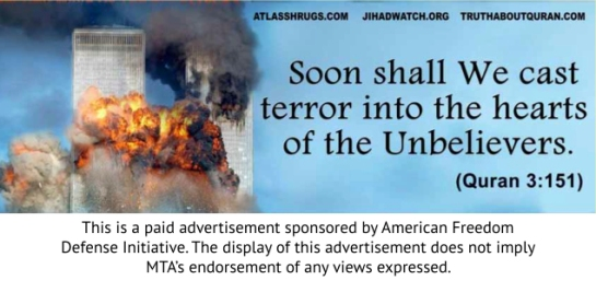 Geller sponsored these ads, Geller's sponsors actually conducted the attacks.