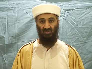 A really obvious fake bin Laden from 2007. Wrong everything.