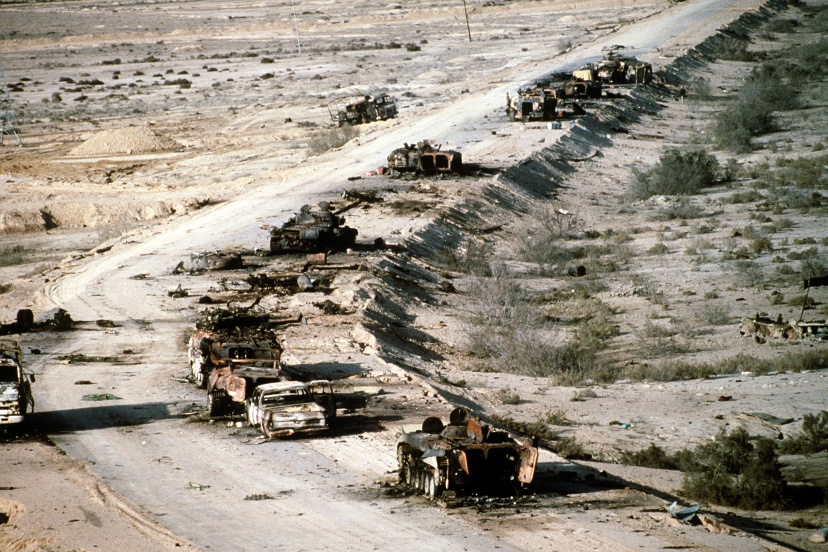 If the US was really fighting the IS group, this is what their convoy would look like. Aftermath f the