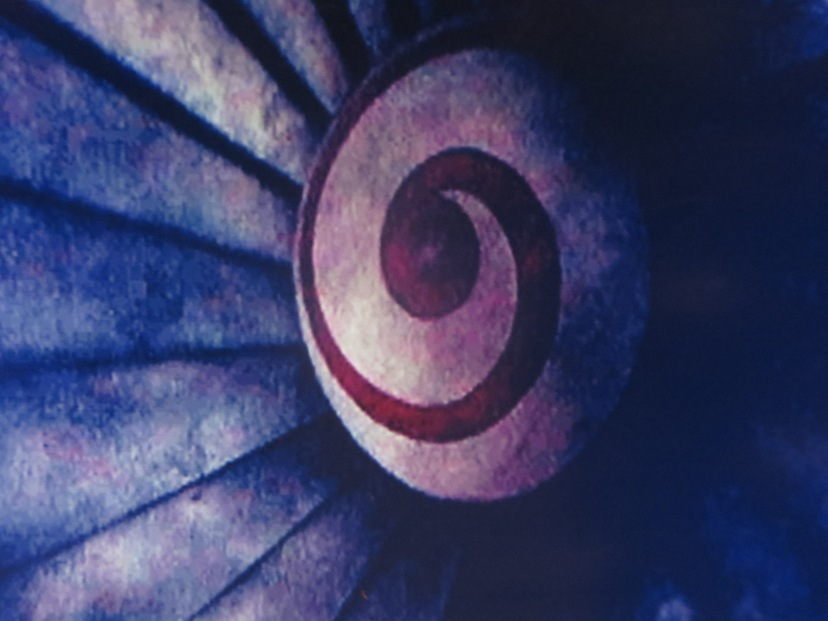 The wormhole symbol for the jet engine in time travel flick Donnie Darko.