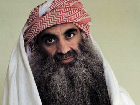 A photograph of Khalid Sheikh Mohammed from 2007 approx.
