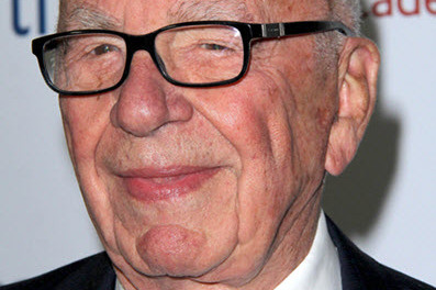Lord of war and proponent of genocide and, paragon of unrepentant evil Rupert Murdoch.