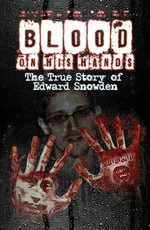 Thank god some American still have the guts to stand up and speak the truth! This is the cover of a book that reveals the nefarious truth about so called whistle-blower Edward Snowden!