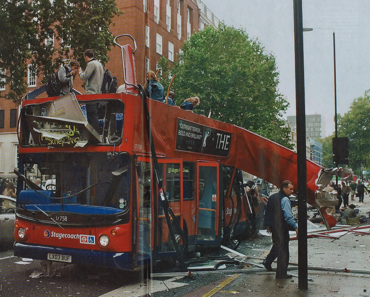 the 7/7 London Bombings.