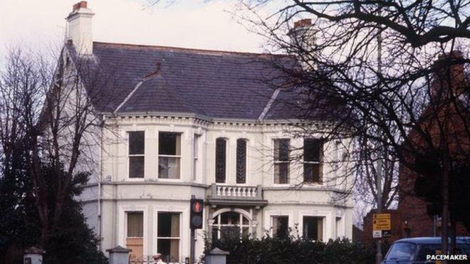 The Kincora Boys home in 1982. BBC photo.