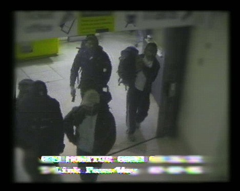 CCTV Image of the accused 7/7 bombers.