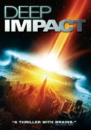 Poster from the 1998 Disaster movie Deep Impact.