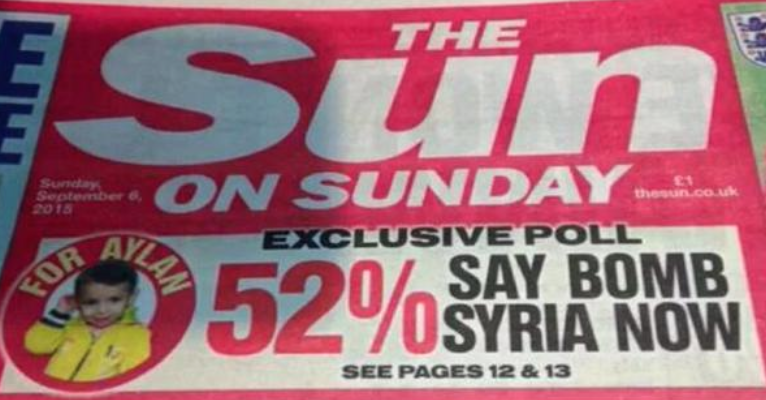 Murdoch's maggots are addicted to lies and war.Advocating mass murder is their raison d'etre and I hope they burn in hell.