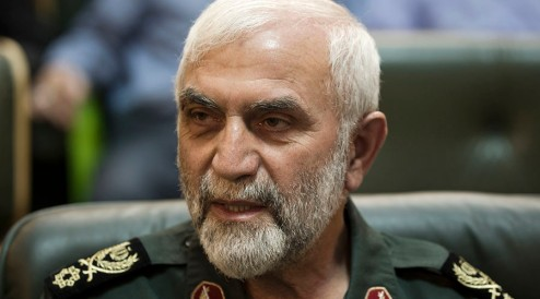 Hossein Hamadani the senior Iranian General who died near Aleppo.