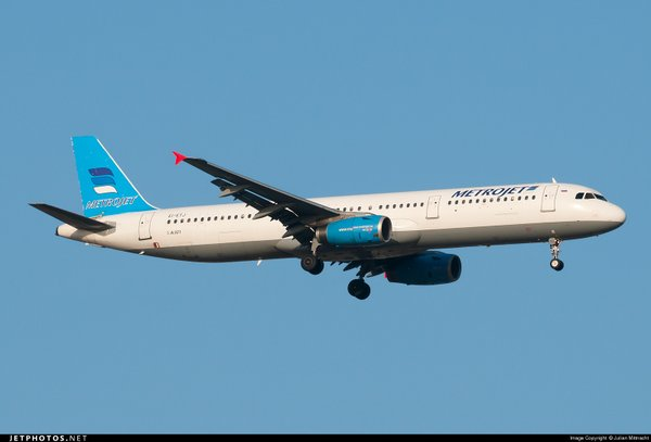 A Metrojet Airbus A320. was the aircraft that was destroyed over the Northern Sinai.