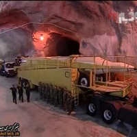 Iran Unveils Secret Underground Base.