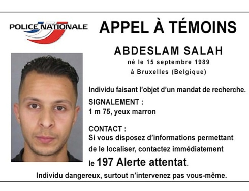 "Salah Abdeslam the pathetic figure laughably presented as being one of the masterminds of the Paris hoax.His arrest is being presented as a motive for the latest outbreak of ""terror."""
