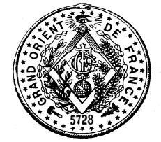 Emblem of the Grand orient de France.
