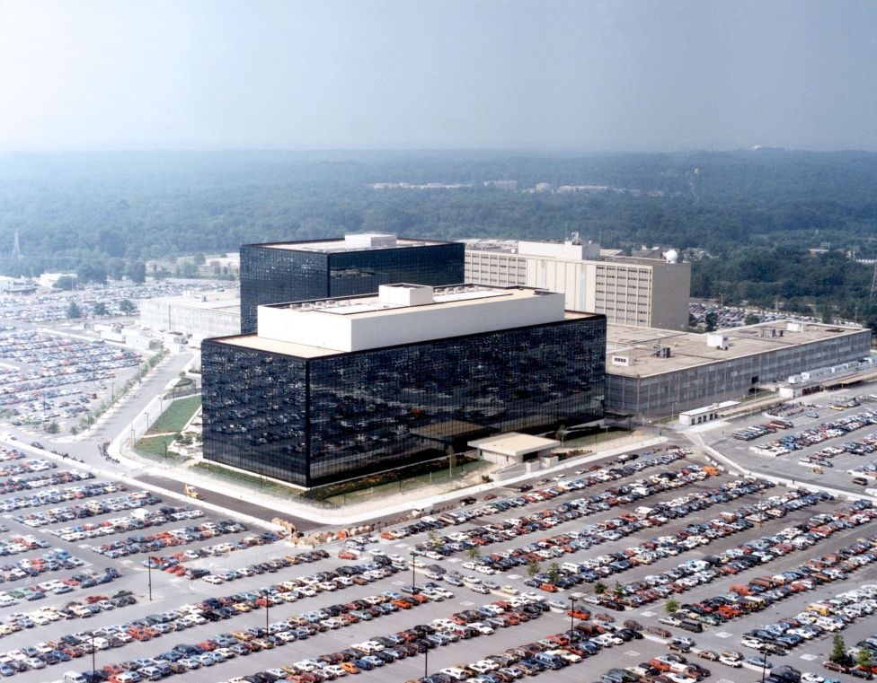 The NSA HQ at Fort Meade, the threadbare budget of the NSA in plain sight.