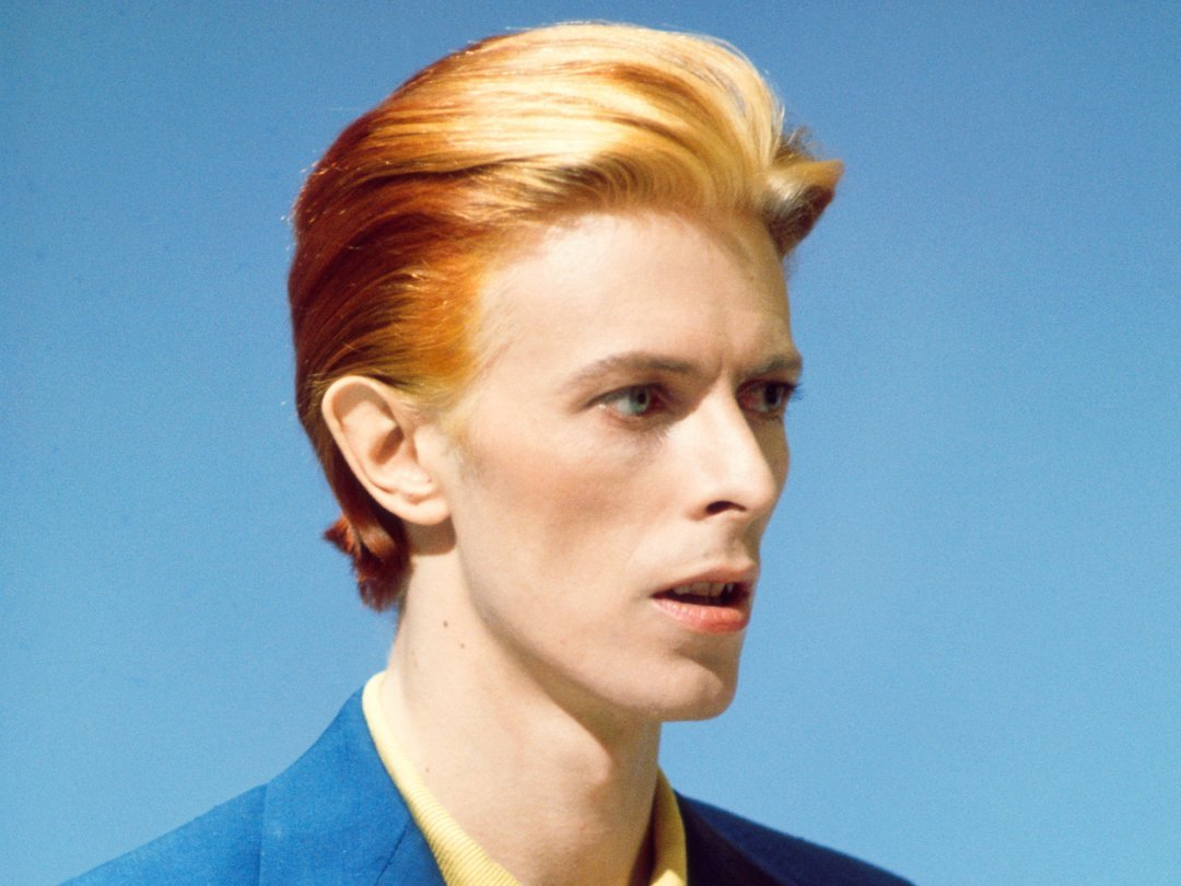 David Bowie in the mid 1970s.