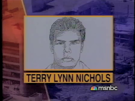 Police sketch of John Doe 2 and incorrectly named as Terry Nichols. This image helps explain the fact that John Doe 2 went missing, there was no patsy that could fill the role as Terry Nichols could prove he was in Arkansas on April, 19th, 1995.