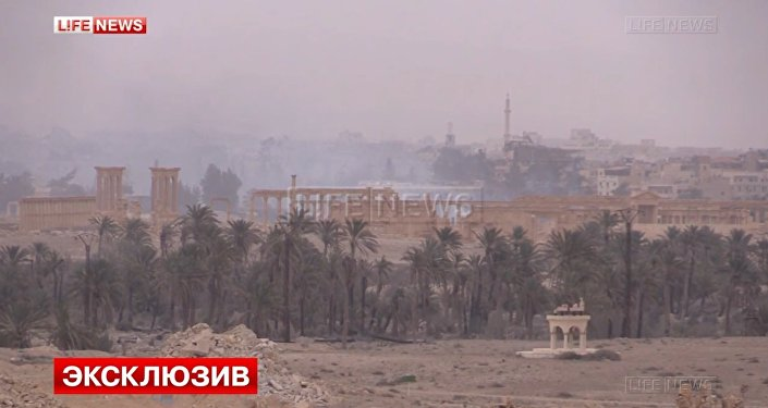 Life news still of ancient Palmyra.