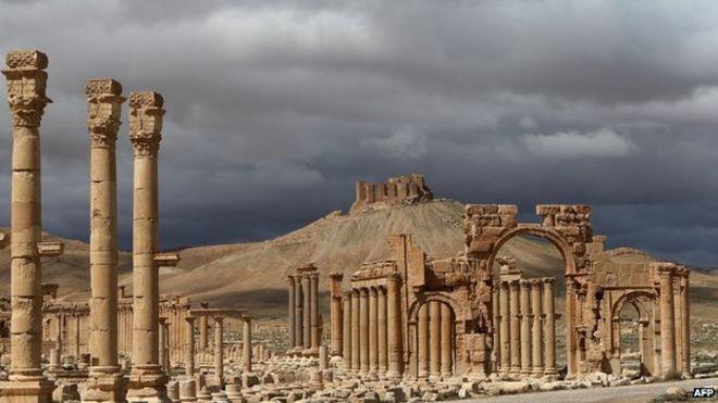 The Palmyra Citadel.