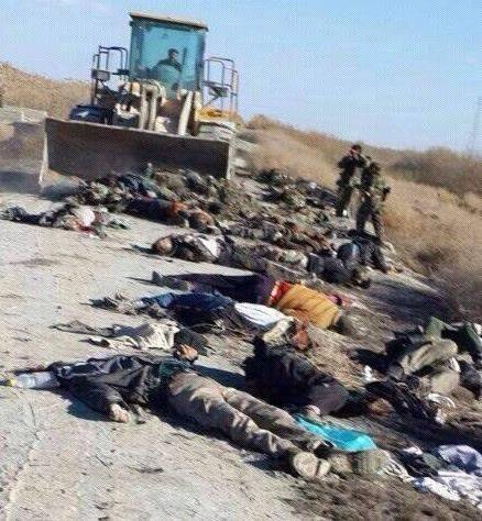 This is how the Syrian Army helps ISIS.