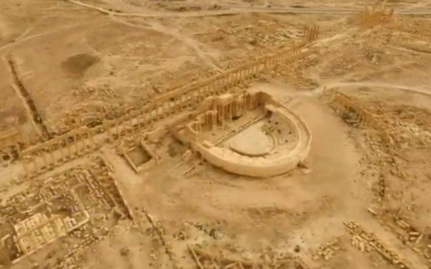 The Palmyra Amphitheater.