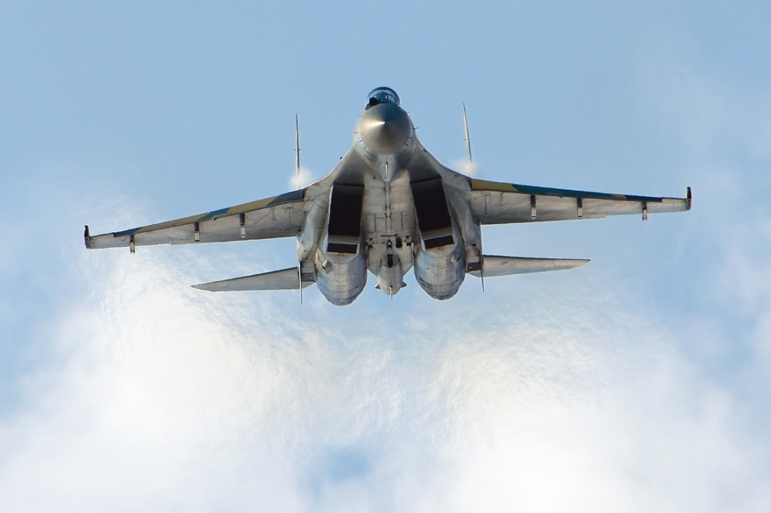 A small group of SU35s, Russia's most advanced war plane were deployed to Syria only weeks ago.