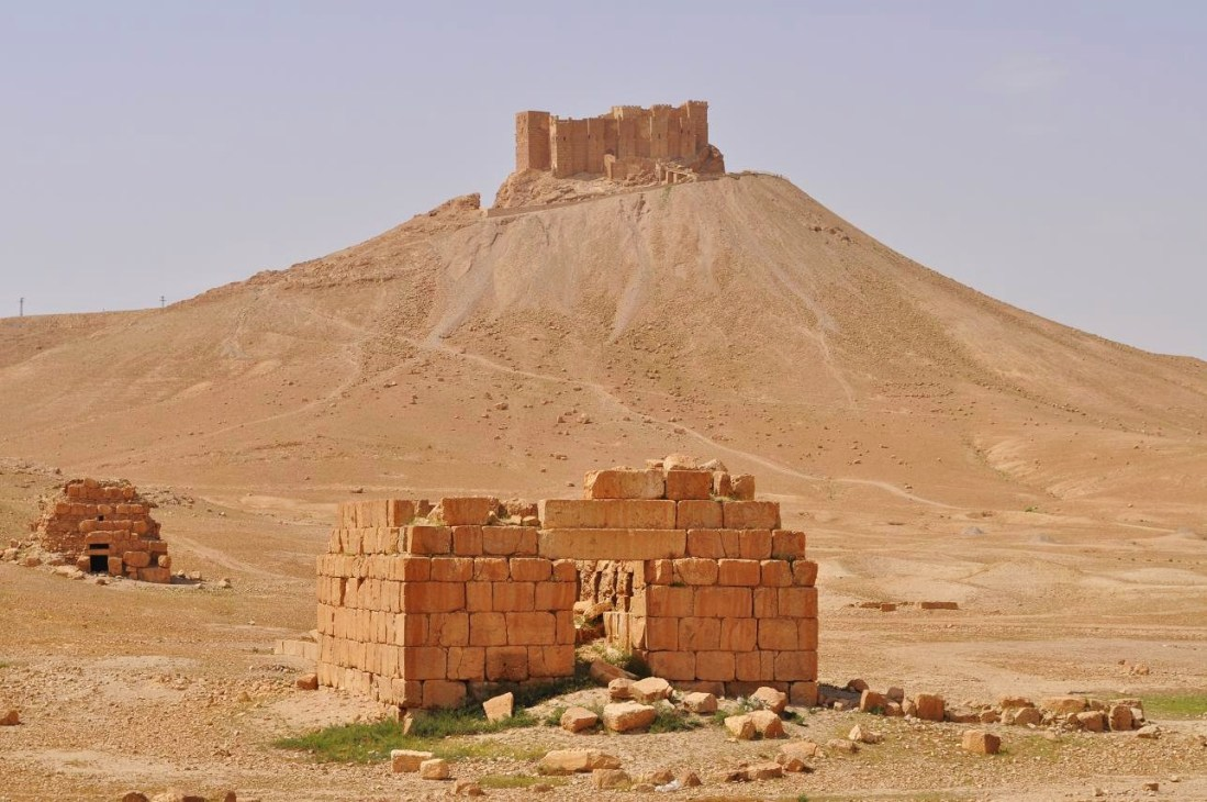 The Palmyra Ctadel.